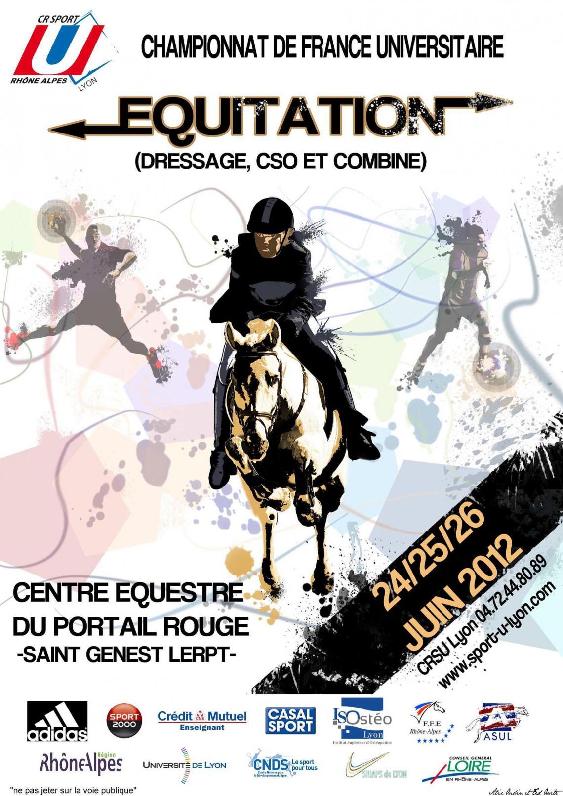 Les Championnats de France Universitaires 2012