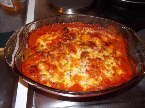 Parmesane d'aubergines
