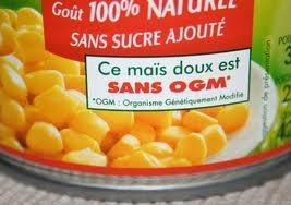 Etiquette sans OGM