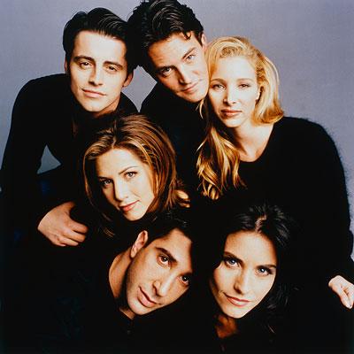 Les 6 acteurs et amis
