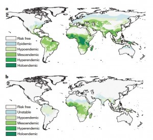 Evolution du paludisme