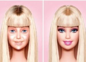 Barbie sans maquillage, les dessous du décor