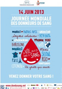 14 juin et don du sang