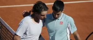 Nadal et Djokivic à Roland Garros 2013