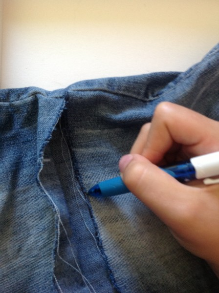 Trait au stylo 2
