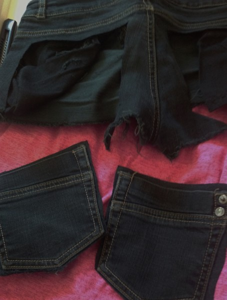 Decoupage poches