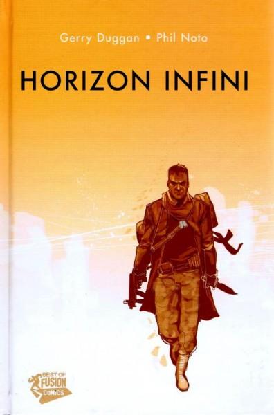 Première de couverture de la BD Horizon Infini