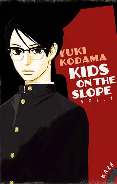 Première de couverture du tome un du manga Kids on the Slope