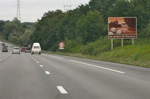 Regarder le paysage pour ne pas s'ennuyer en voiture