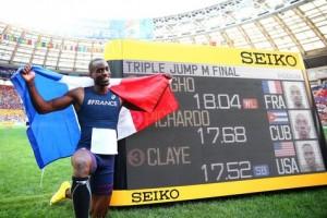 Triple saut aux championnats du monde d'athlétisme 2013