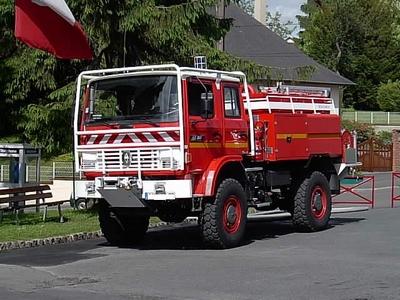 Véhicule de sapeurs-pompiers