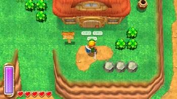 Version récente de la maison de Link