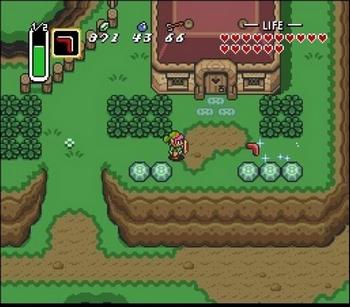 L'ancienne version du monde de The Legend of Zelda : A Link Between Worlds