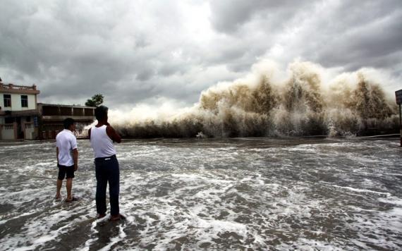 Image illustrant les dégats du typhon Haiyan