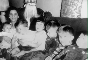 Un des costumes de Père Noël les plus effrayants