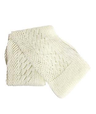 écharpe tricot dentelle chez étam