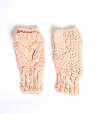 moufles tricot refermables chez etam
