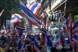 Révoltes en Thaïlande