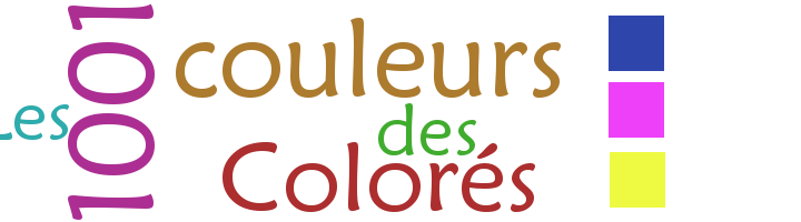 Les 1001 couleurs des colorés