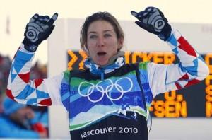 Déborah Anthonioz Jeux Olympiques Sotchi 2014 délégation française