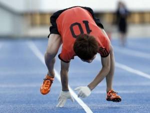 records insolites 2013 100 m quatre pattes