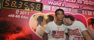 records insolites 2013 plus long baiser