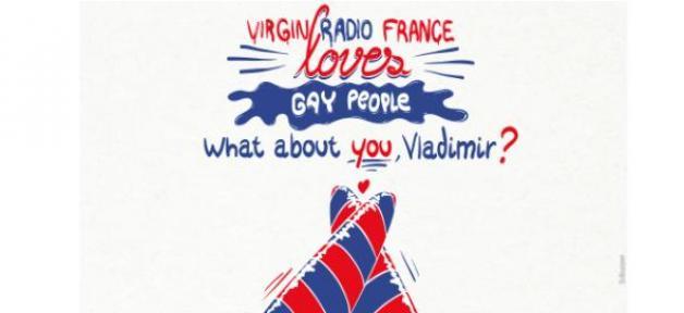 Soutiens à la communauté gay en Russie