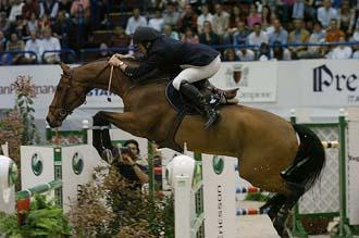 Bruno Broucqsault Dileme FEI World Cup Jumping