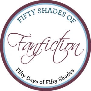 Fifty shades of fanfiction est un jeu de mot qui fait référence à l'origine de l'histoire de Cinquante nuances de Grey.