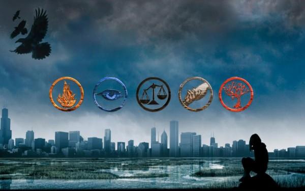 Les 5 factions