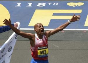 Il s'agit de l'Américain qui a été le plus rapide à cette édition du marathon de Boston.