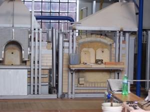 Il s'agit d'un atelier de fabrication de verre de Murano sur l'île.