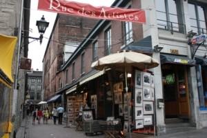 Si vous souhaitez sortir à Montréal et faire le premier bon plan à Montréal, la Rue des artistes est un incontournable.