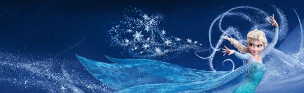 Elsa et ses flocons de neiges