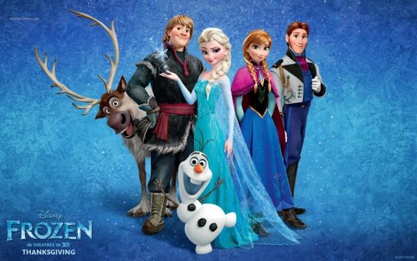 La reine des neiges et ses personnages principaux