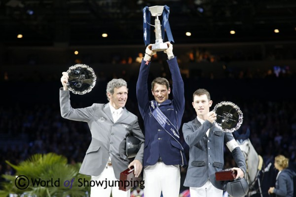 Podium CSO finale FEI World Cup 2014