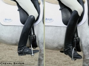 La cession à la jambe, un exercice de dressage, a de nombreux bienfaits.