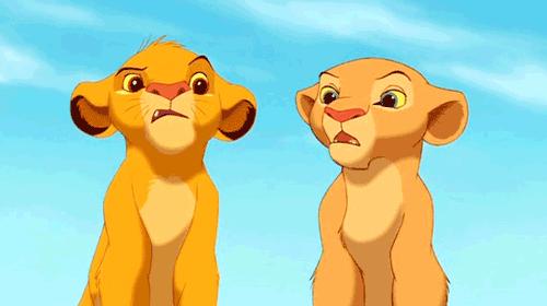 simba et nala lionceaux
