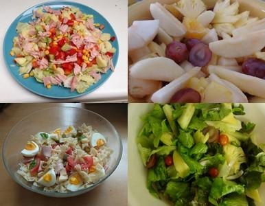 Farandole de salades