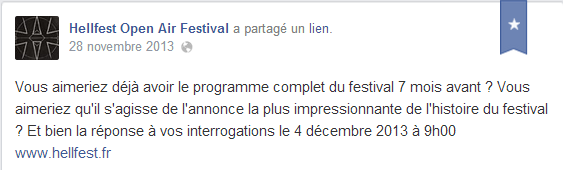 teaser hellfest 2014