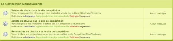 Compétition MCienne