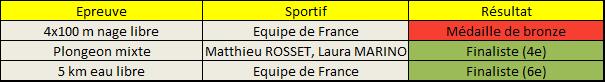 Championnat Europe Natation 2014 mixte