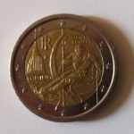 Pièces 2€ commémoratives JO Turin