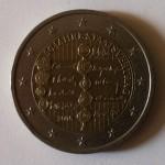 Pièces 2€ commémoratives Traité autriche