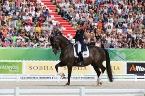 Résultats des Jeux Equestres Mondiaux 2014 dressage
