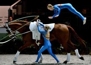 Résultats des Jeux Equestres Mondiaux 2014 voltige