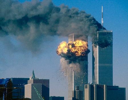 Photographie de l'attentat du 11septembre 2001