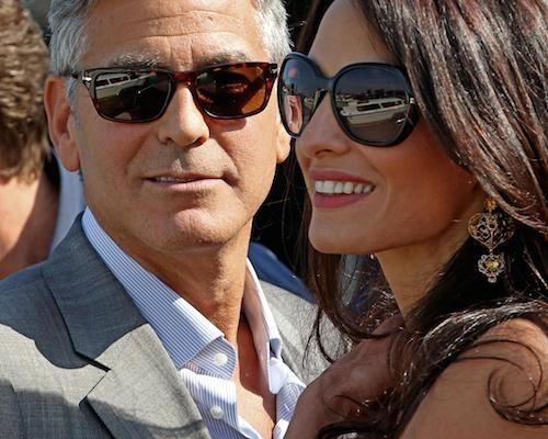 Mariage de George Clooney et d'Amal Alamuddin