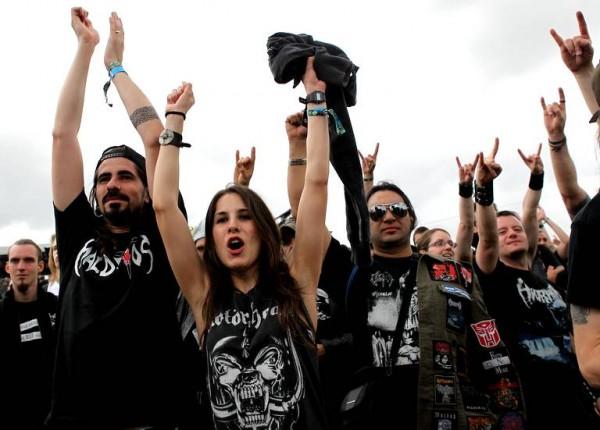 Metalleux au Hellfest
