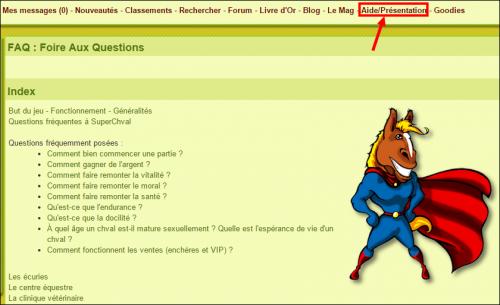 Pour tout connaître du fonctionnement du jeu de MonChval.com